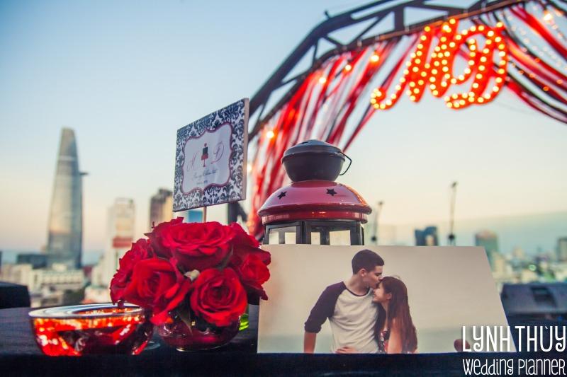 ROOFTOP WEDDING | DUYÊN & MICHEAL
